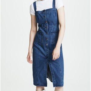 BB Dakota Lauren Denim Dress Sz 6